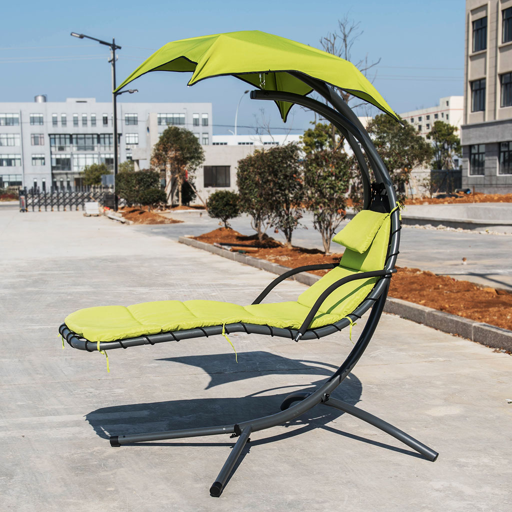 Hanging Chair Outdoor Details About Hanging Chaise Lounge Chair Outdoor Swing Hammock Air Porch Relax Reading Seat