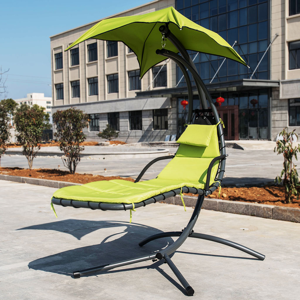 indoor hammock chair desk teen outdoor swing with arc stand canopy for patio details about beach bedroom