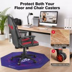 47 X 47 Gaming Chair Mat Office Computer Desk Floor Carpet Protector Non Slip Ebay