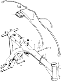 1977 Honda Z50A A OEM Parts, Babbitts Honda Partshouse