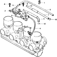 1981 Honda CB750F A OEM Parts, Babbitts Honda Partshouse