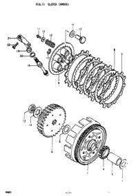 1978 Suzuki RM80 OEM Parts, Babbitts Online