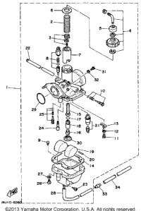 1986 Yamaha MOTO-4 (YFM200DXS) OEM Parts, Babbitts Online
