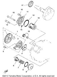 1986 Yamaha MOTO-4 (YFM225S) OEM Parts, Ronnie's Mail Order
