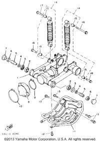 1986 Yamaha MOTO-4 (YFM225S) OEM Parts, Babbitts Online