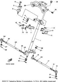 1987 Yamaha MOTO-4 (YFM200DXT) OEM Parts, Babbitts Online