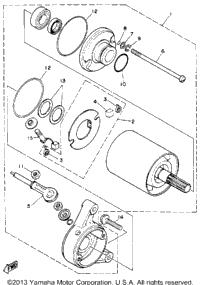 1987 Yamaha MOTO-4 (YFM350ERT) OEM Parts, Babbitts Yamaha