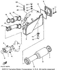 1988 Yamaha MOTO-4 (YFM200DXU) OEM Parts, Babbitts Online