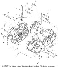 1988 Yamaha MOTO-4 (YFM225U) OEM Parts, Babbitts Online
