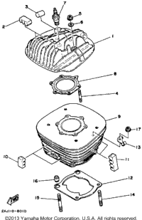1988 Yamaha BLASTER (YFS200U) OEM Parts, Babbitts Online