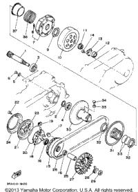 1989 Yamaha BREEZE (YFA1W) OEM Parts, Babbitts Online