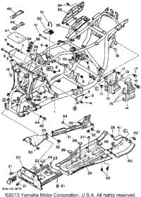 1989 Yamaha BIG BEAR 4WD (YFM350FWW) OEM Parts, Babbitts