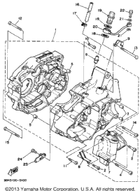 1993 Yamaha Yfm350fwe Big Bear Wiring Diagram : 45 Wiring