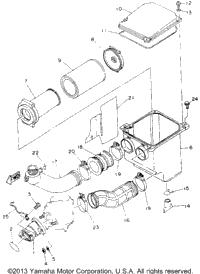 1993 Yamaha KODIAK 4WD (YFM400FWE_) OEM Parts, Ron Ayers