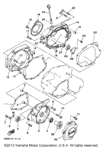 1994 Yamaha TIMBERWOLF 2WD (YFB250F) OEM Parts, Babbitts