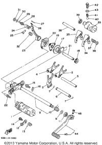 1994 Yamaha KODIAK 4WD (YFM400FWF) OEM Parts, Babbitts