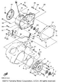 1995 Yamaha KODIAK 4WD (YFM400FWG) OEM Parts, Babbitts