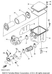 1996 Yamaha TIMBERWOLF 2WD (YFB250FWH) OEM Parts, Babbitts