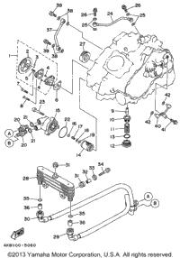 1996 Yamaha WOLVERINE 4WD (YFM350FXH) OEM Parts, Babbitts