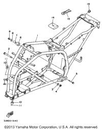 1996 Yamaha BLASTER (YFS200H_MN) OEM Parts, Babbitts