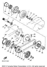 1998 Yamaha BREEZE (YFA1K) OEM Parts, PartsPitstop.com