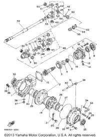 1998 Yamaha TIMBERWOLF 4WD (YFB250FWK) Carburetor