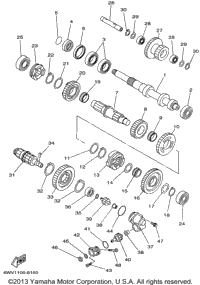 1998 Yamaha GRIZZLY (YFM600FWAK) OEM Parts, Babbitts