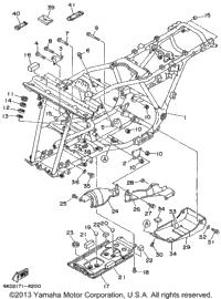 1999 Yamaha TIMBERWOLF 2WD (YFB250FWL) OEM Parts, Babbitts