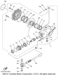 1999 Yamaha BEAR TRACKER 2WD (YFM250XL) OEM Parts