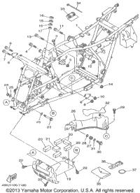 1999 Yamaha BIG BEAR 4WD (YFM350FWBL) OEM Parts, Babbitts