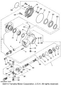 1999 Yamaha WOLVERINE 4WD (YFM350FXL) OEM Parts, Babbitts