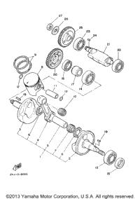 2000 Yamaha BLASTER (YFS200M) OEM Parts, Babbitts Yamaha