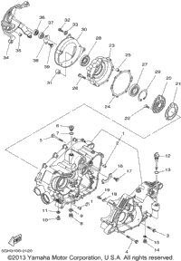 2002 Yamaha KODIAK 4WD (YFM400FAP) OEM Parts, Ron Ayers