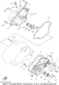 2002 Yamaha BIG BEAR 400 4WD (YFM400FP) OEM Parts