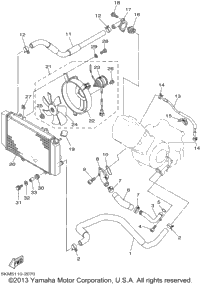2002 Yamaha GRIZZLY 660 (YFM660FP) OEM Parts, Babbitts