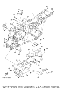 2003 Yamaha WOLVERINE 4WD (YFM350FXR) OEM Parts, Babbitts