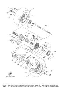 2003 Yamaha KODIAK 400 4WD (YFM400FAR) OEM Parts, Babbitts