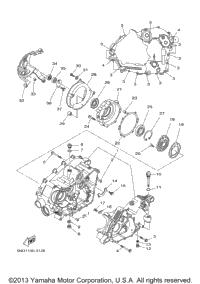 2004 Yamaha KODIAK 450 4X4 HARDWOODS (YFM45FAHS) OEM Parts