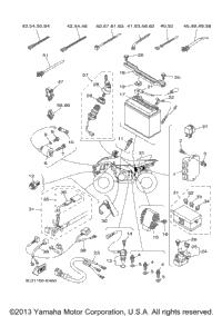 2007 Yamaha WOLVERINE 450 4X4 SPORT (YFM45FXW) OEM Parts