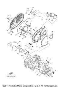 2015 Yamaha GRIZZLY 700 FI EPS SE (YFM700PSFS) OEM Parts