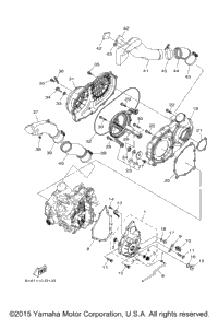 Yamaha Grizzly Differential Diagram Yamaha Engine Diagram