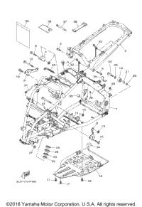 2017 Yamaha RAPTOR 700 (YFM70RSBHO) OEM Parts, Ron Ayers