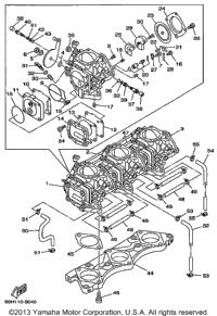 1999 Yamaha LS2000 (LST1200X) OEM Parts, PartsPitstop.com