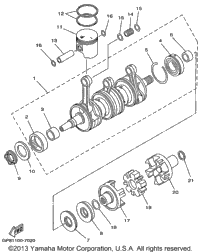 1999 Yamaha LS2000 (LST1200X) OEM Parts, Babbitts Yamaha