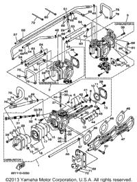 2000 Yamaha XR1800 (XRT1200Y) OEM Parts, PartsPitstop.com