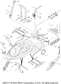 2001 Yamaha LS2000 (LST1200Z) OEM Parts, Babbitts Online