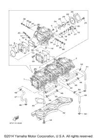 2003 Yamaha LX 210 (LST1200AB) OEM Parts, Babbitts Yamaha