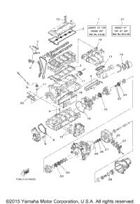 2016 Yamaha 190 FSH DELUXE (SH1800BR) OEM Parts, Babbitts