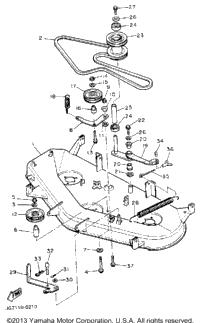 SOLVED: yamaha diagrams I need belt diagram for mower deck