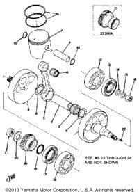 1974 Yamaha DT250A OEM Parts, Babbitts Yamaha Partshouse